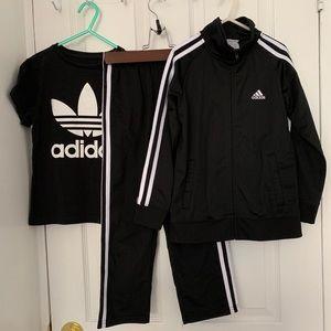 Adidas Tracksuit and Logo Tee